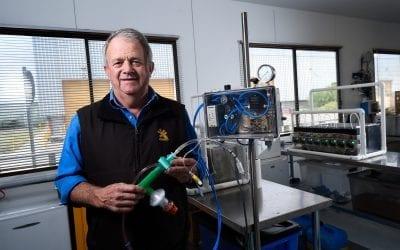 Gekko co-founder develops ventilator prototype