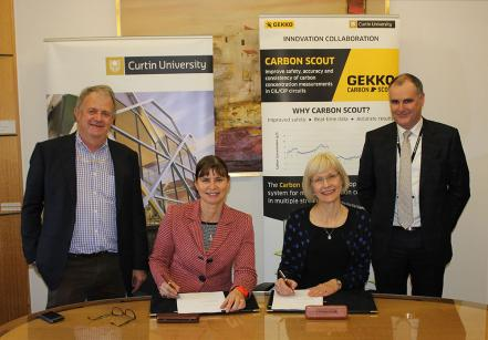 Curtin University sign agreement with Gekko to commercialise breakthrough technology