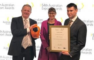 Gekko Systems Wins 2016 Australian Export Awards