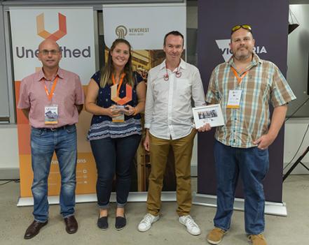 Gekko team wins 2017 Melbourne Unearthed Hackathon