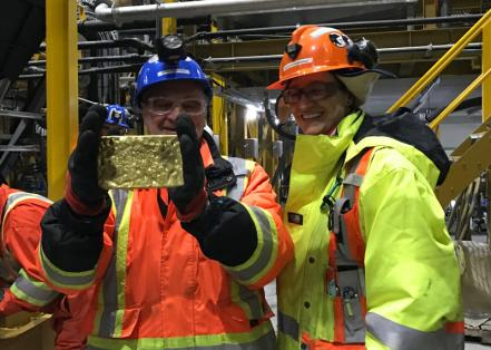 Gekko's modular gold plant benefits Hope Bay