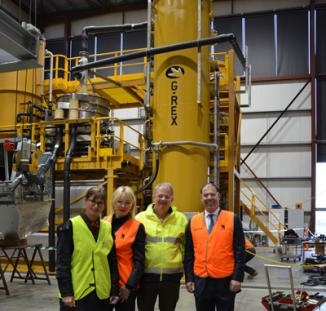 Minister for Resources, Energy and Northern Australia visits Gekko
