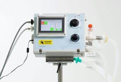 Press release: Gekko receives the go-ahead to produce Australian-designed lifesaving ventilators