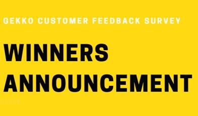 Survey winners announcement